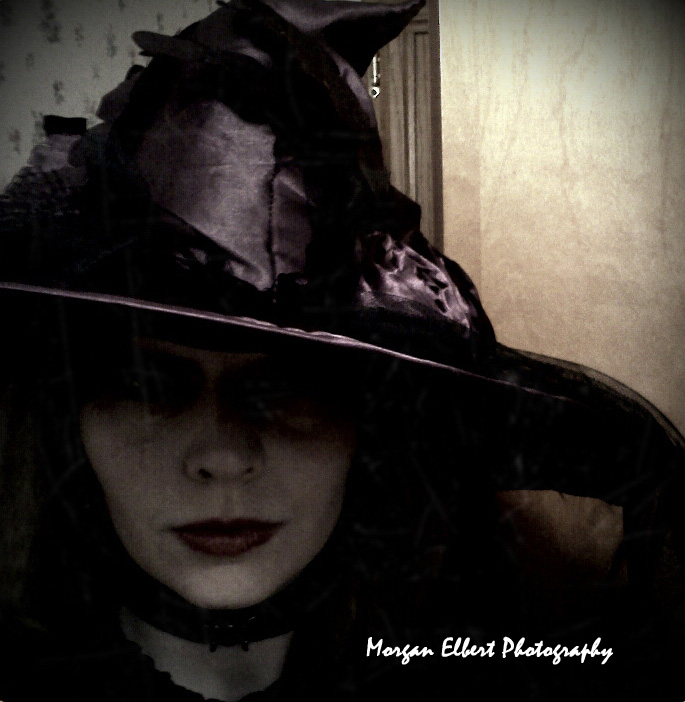 Aug 20, 2012 Morgan Elbert Photography What kind of witch do you think I am?  Self Portrait