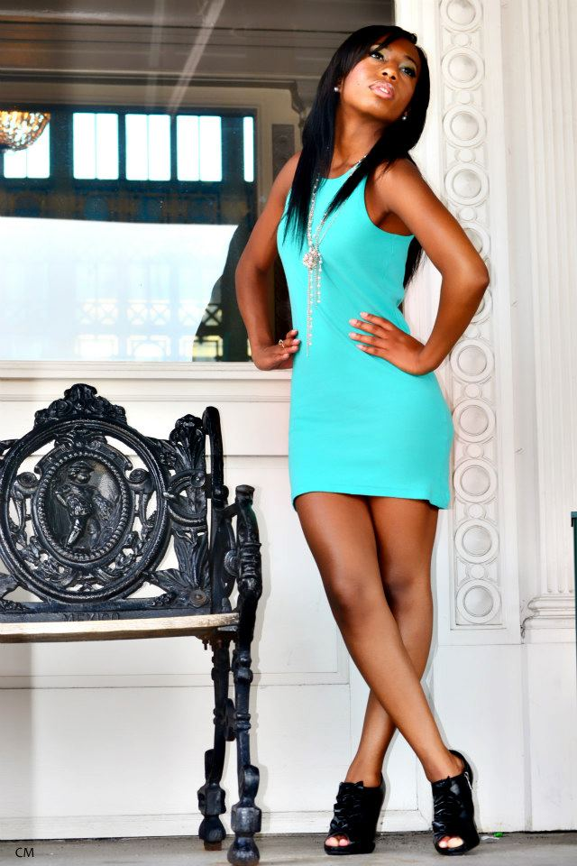 Chattanooga ChooChoo Aug 21, 2012 Chi Model photography Confidence is key