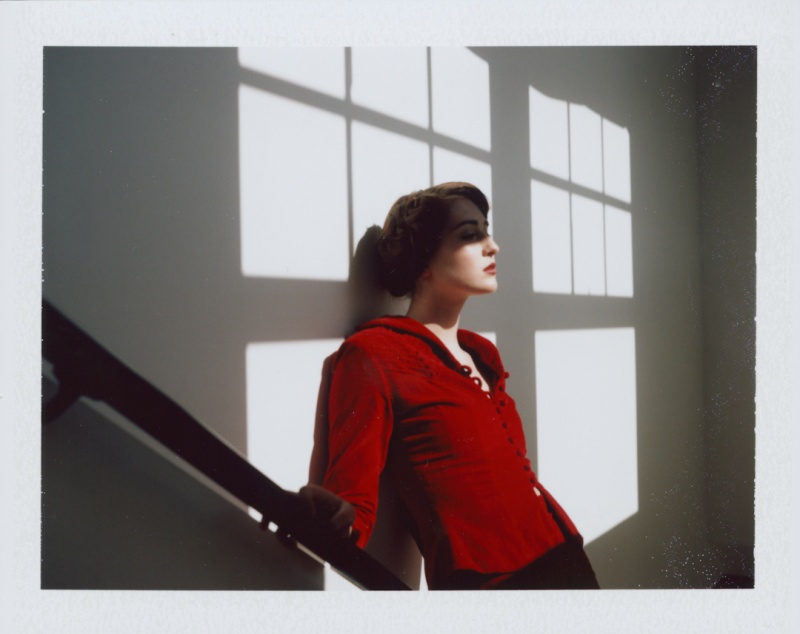 Female model photo shoot of Cassie Hayes in Linen Building Boise