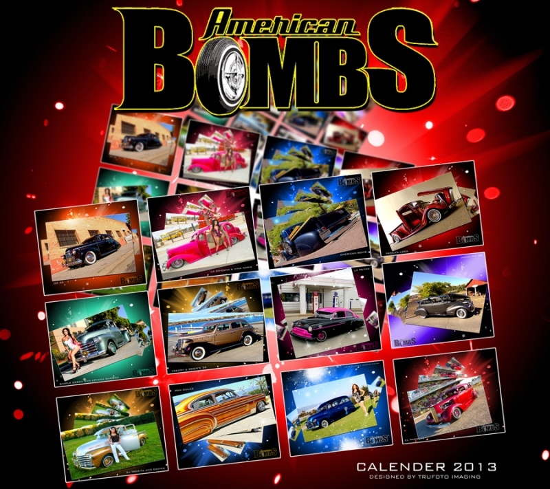 Aug 23, 2012 American Bombs Calender 2013