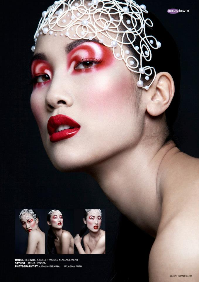 Aug 24, 2012 Irina jensen/ natalia pipkina Make-up collection