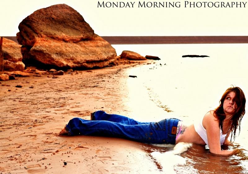 Female model photo shoot of Christine Chancey by Monday Morning in Lake Arcadia,Oklahoma