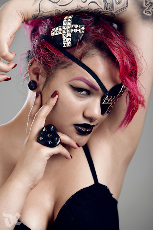 Aug 25, 2012 Photographer: My Digital Eye, MUA: Jade Reeves Ferguson, Accessories: GutterQueen Jewellery GutterQueen
