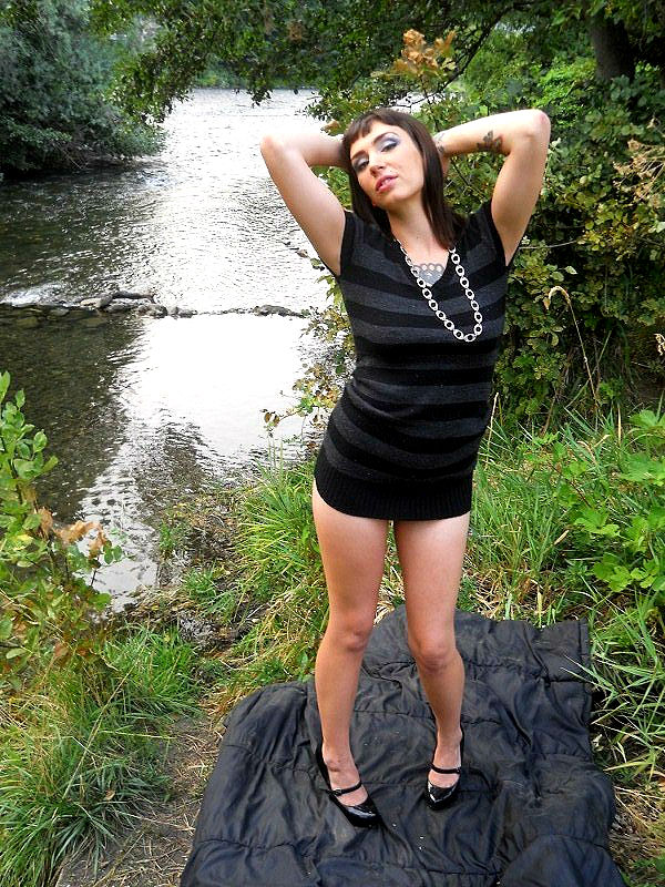 Female model photo shoot of Brittany Blunts by Endlessnight Photo in Southern Oregon