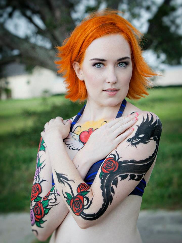 Aug 27, 2012 Tommy Lyles Body paint