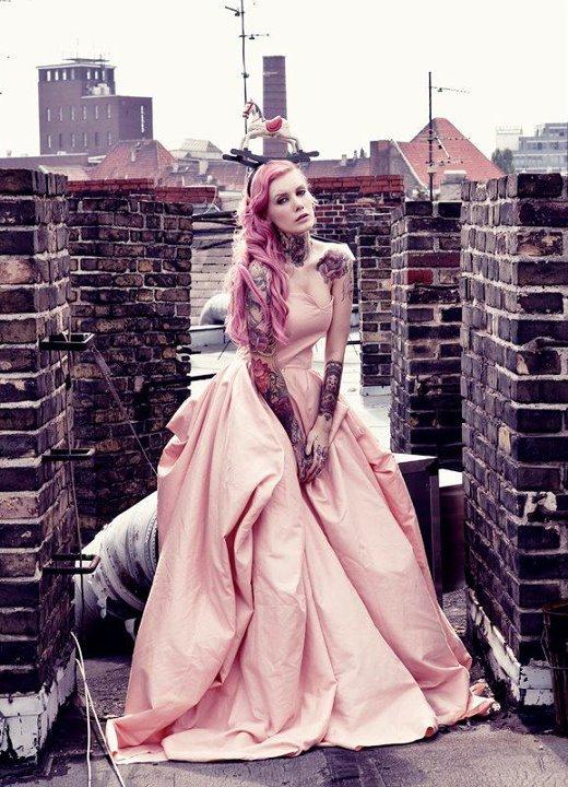 Female model photo shoot of valentina belleza in BERLIN