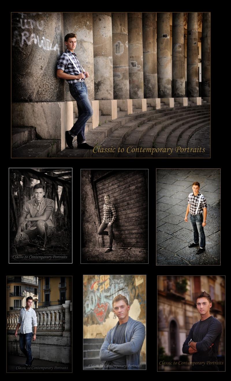 Male model photo shoot of C2C Portraits in Naples, Italy