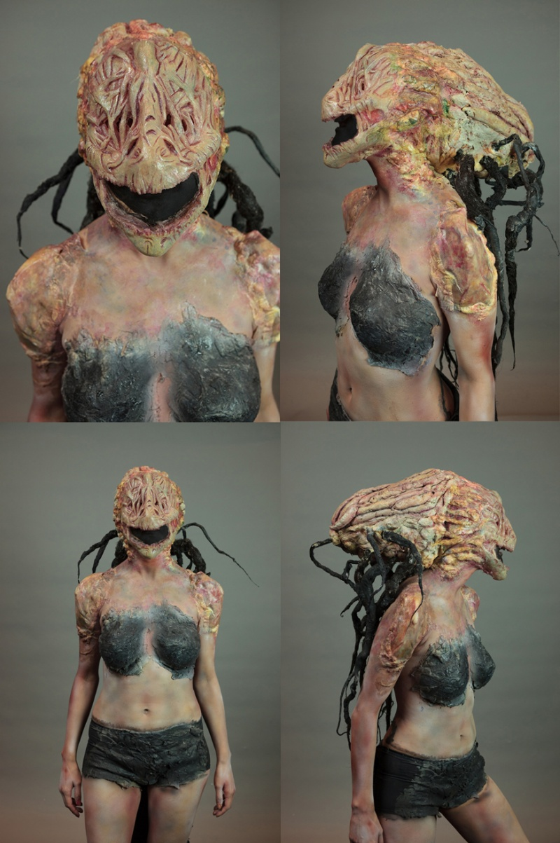 Aug 28, 2012 IMATS Special FX Alien Makeup