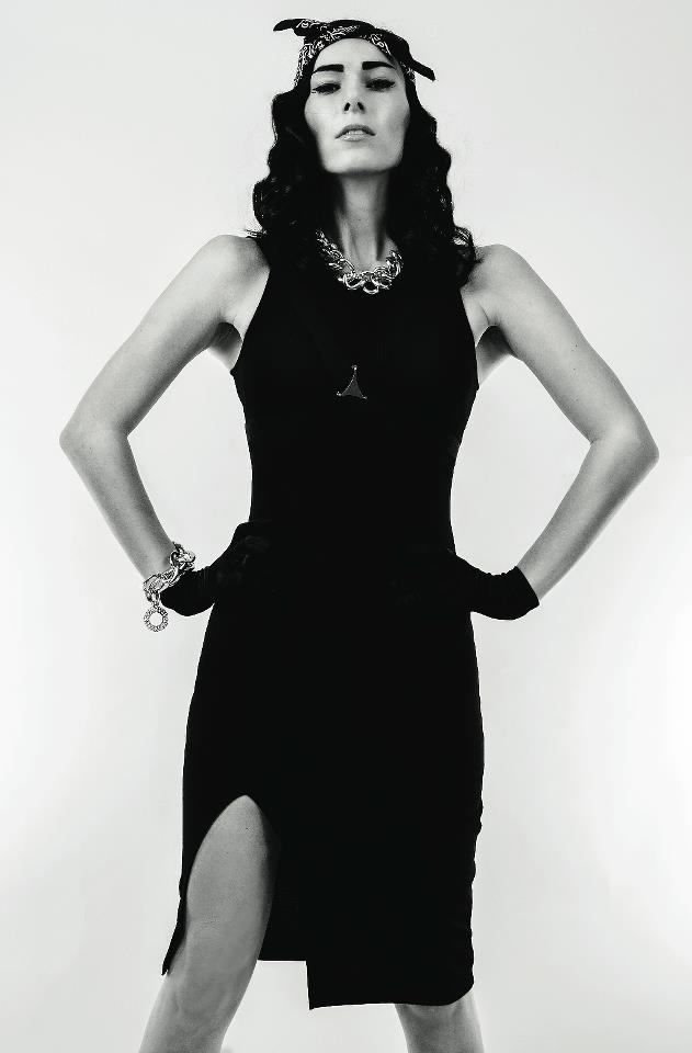 Female model photo shoot of CW Fashion Stylist