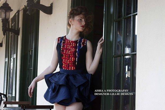 Female model photo shoot of Aisha A Photography