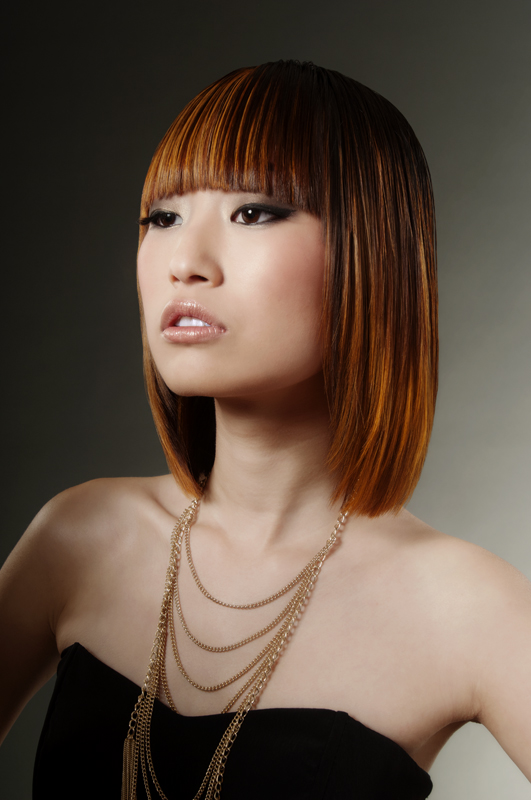 Female model photo shoot of Victoria the colorist and RAN WEI in San Mateo