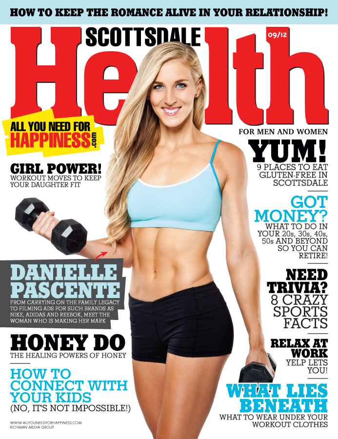 Sep 02, 2012 JP 2012 Scottsdale Health Magazine | September 2012 Featuring Danielle Pascente