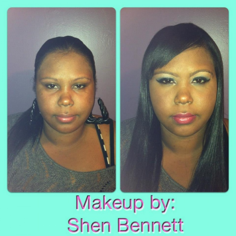 Female model photo shoot of MUA Shen Bennett in Boston, MA