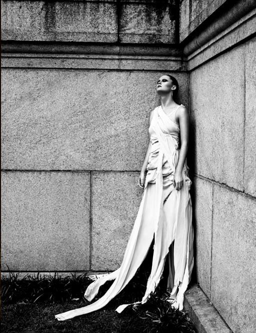 Female model photo shoot of Lizabet, wardrobe styled by Raymond Gee