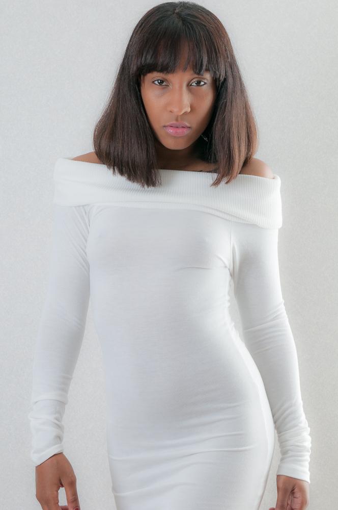 Female model photo shoot of Tania Chnel by Spotlight Girls