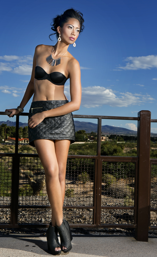 Male and Female model photo shoot of Keith Saunders Photos and Kathleen Calma in LV