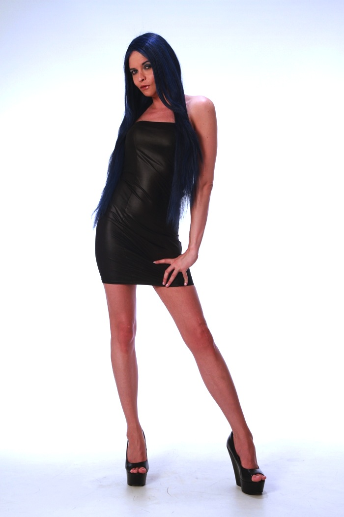 Female model photo shoot of TS Liberty by Gregory Miles Brown in Lofthouse Studio - London