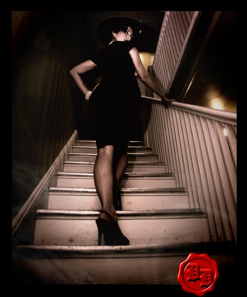 Male model photo shoot of Devils Door in dc