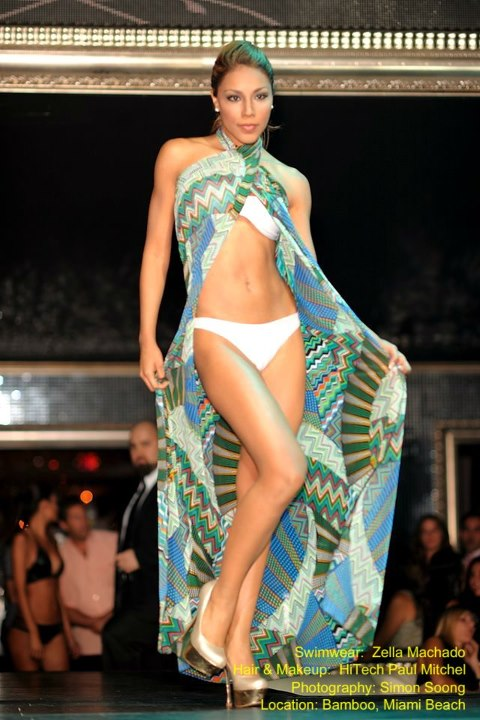 Miami Beach, FL Sep 05, 2012 Simon Soong Zella Machado Swimwear Collection 2012