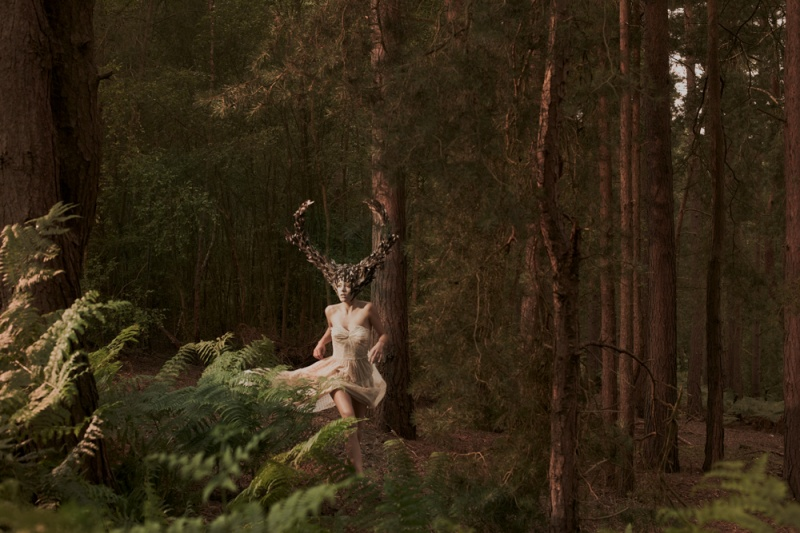 Male and Female model photo shoot of Shaun McGrath and DanniMenzies in blackheath forest england