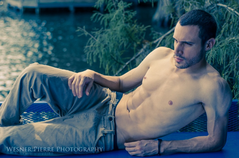 Male model photo shoot of Wesner Pierre and Marcel D in Winter Park, FL