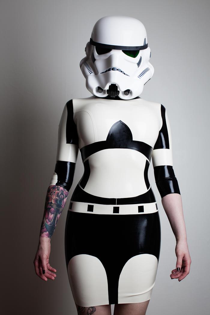 Sep 06, 2012 TechnicalBoy Photography, Elegy Ellem Model Stormtrooper Inspired Dress