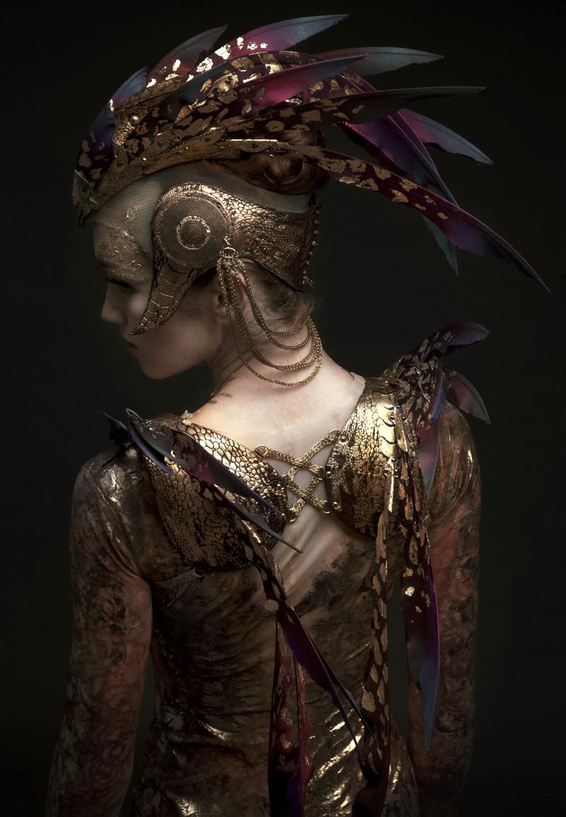 Sep 06, 2012 English National Ballet Firebird Headpiece & Harness