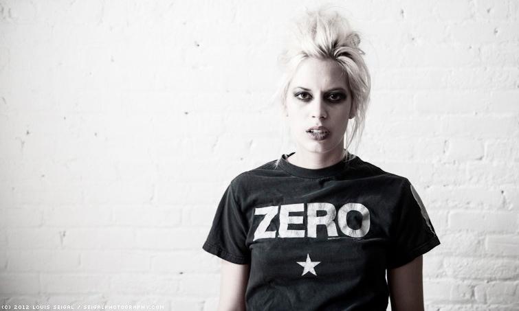 Female model photo shoot of z e r o by Louis S in Brooklyn, New York