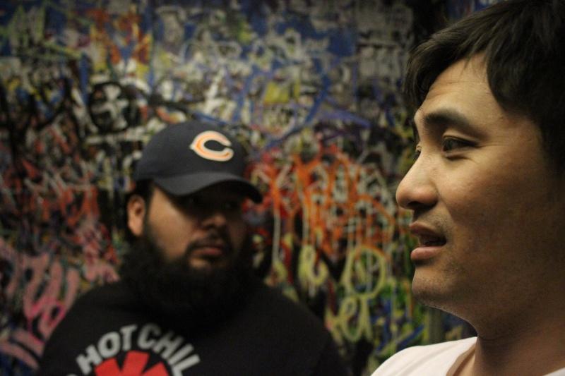 Hollywood, Amoeba Sep 17, 2012 Cesar Lemus Graphitti- Juan and Gerald