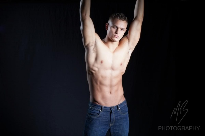 Male model photo shoot of James OH