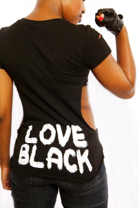 Hollywood, CA Sep 17, 2012 Graphic Queen Apparel LOVE BLACK