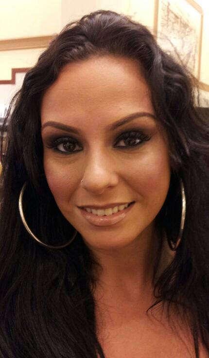 Female model photo shoot of Monica - Makeup Artist