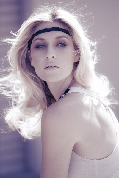 Female model photo shoot of Laurie or Lori by KooK, hair styled by Felvi Hair and Makeup