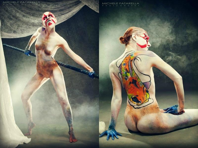 Sep 19, 2012 photo: Michele Fatarella bodypainting: Silvia Gerzeli Water Dæmon