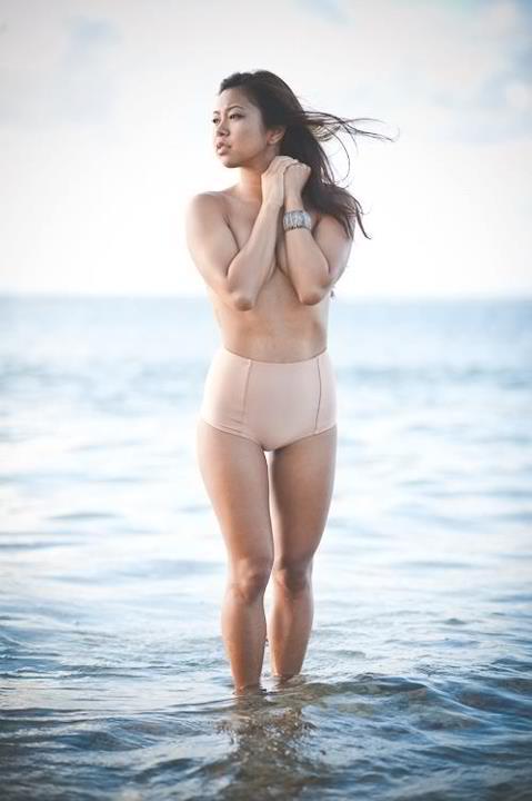 Female model photo shoot of Kristy Joy by Reese_M in Kahala Morning