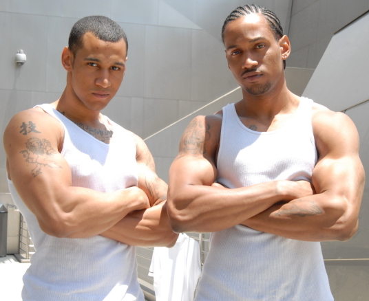 Male model photo shoot of Devin Dior and Joey Toliver by Steven Williams PR in Los Angeles, CA