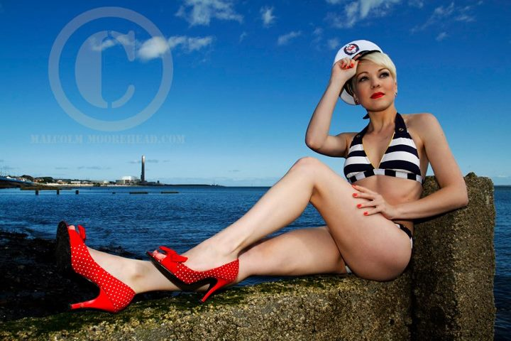 Male and Female model photo shoot of Malcolm Moorehead and China in Your Hands in Carrickfergus, Northern Ireland