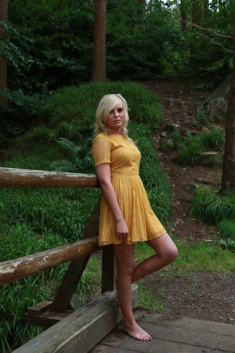 Female model photo shoot of Bronwyn Dunne in Ravensdale Forest