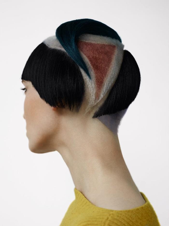 Female model photo shoot of DEMAUPIN in London/ Peter Gray -hair