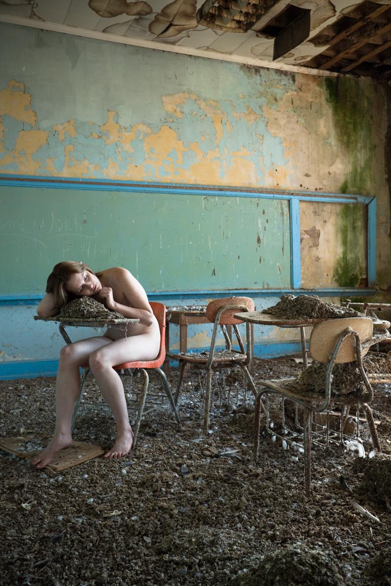 Abandoned school, North Carolina Sep 27, 2012 2012