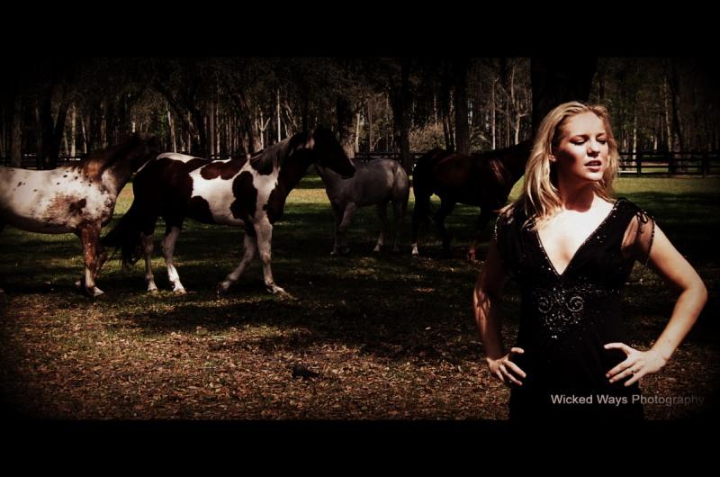 Sep 28, 2012 Megan Love with the geldings
