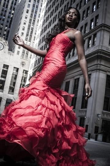 Sep 29, 2012 Payton Studios Red Dress- Tall Buildings- Beautiful Woman