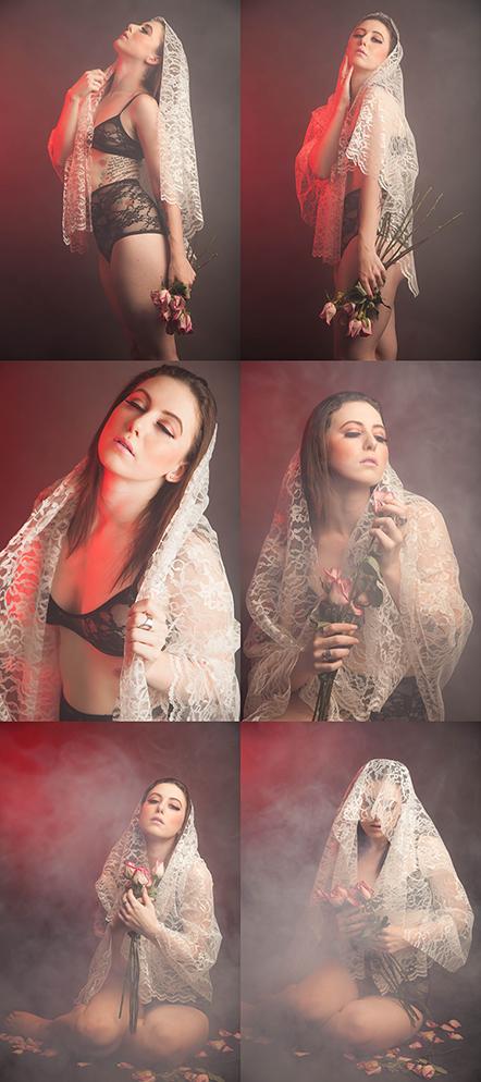 Female model photo shoot of Taryn Carter and - Abigail -