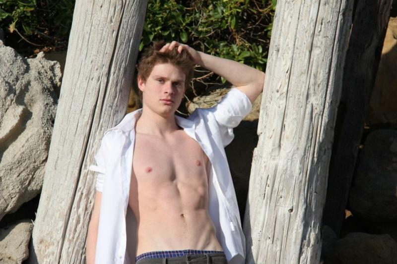 Male model photo shoot of Ryan John Weiss in Malibu