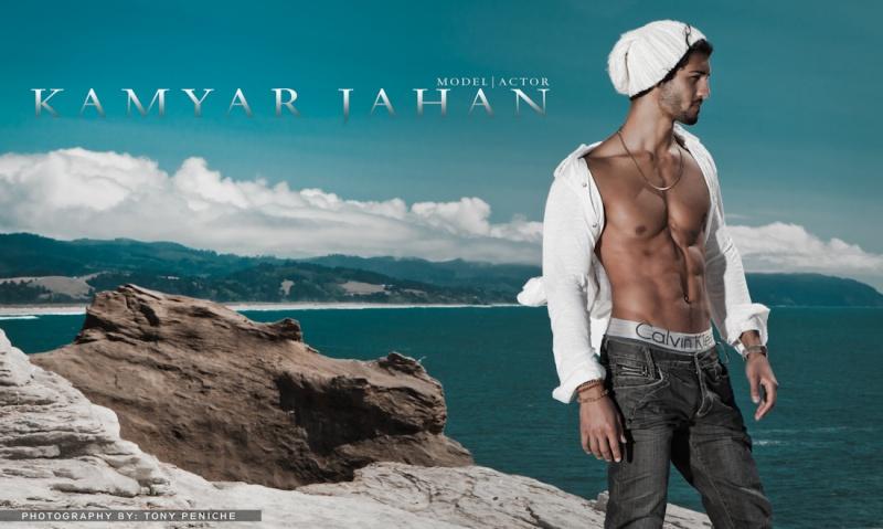 Male model photo shoot of Tony Peniche