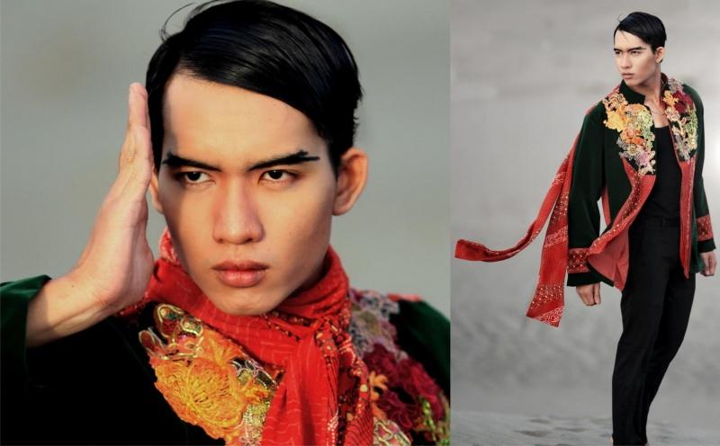 Male model photo shoot of Rico RYANO in Indonesia, Desert