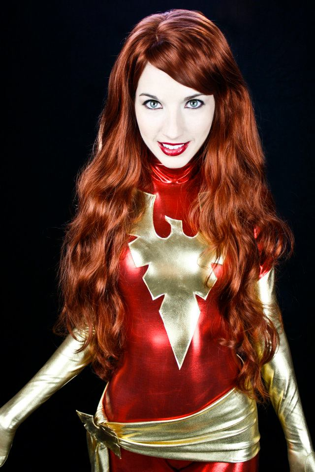 Oct 03, 2012 Brittany Marie Photography Dark Phoenix of the X-Men