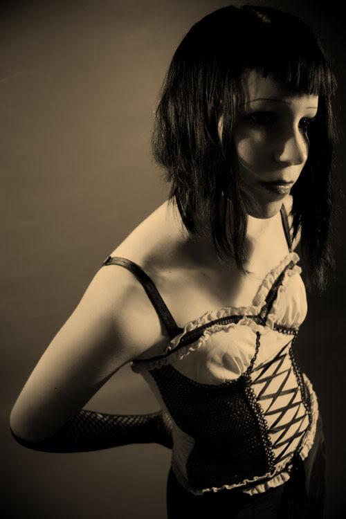 Female model photo shoot of Dead Dolly