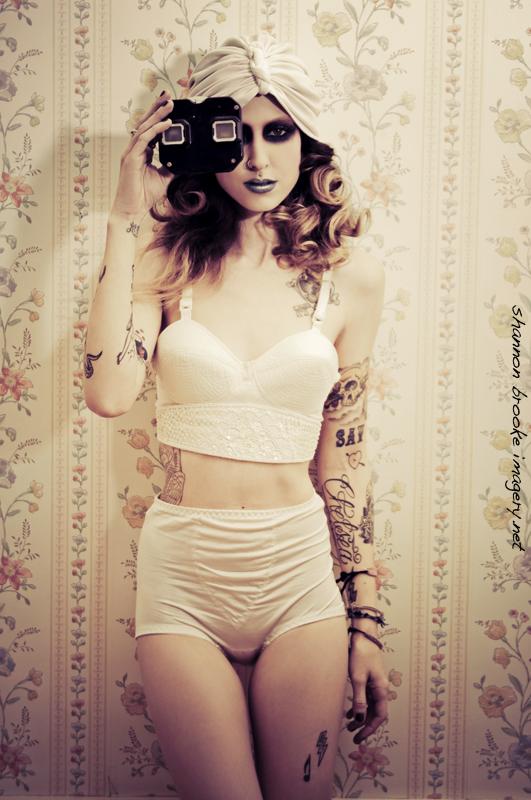 Female model photo shoot of Shannon Brooke in Grass Valley, CA, makeup by Jennifer Corona