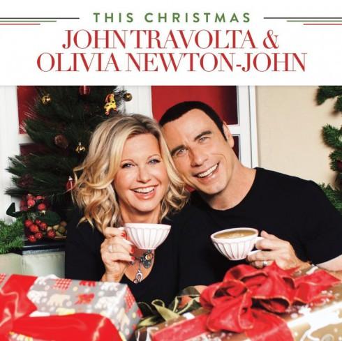 Los Angeles, CA Oct 08, 2012 Rav Media Group, LLC CD Cover I shot for Olivia Newton John, and John Travoltas Christmas CD